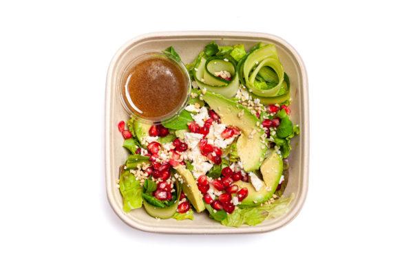 Avokado salāti balzāmetiķa mērcē