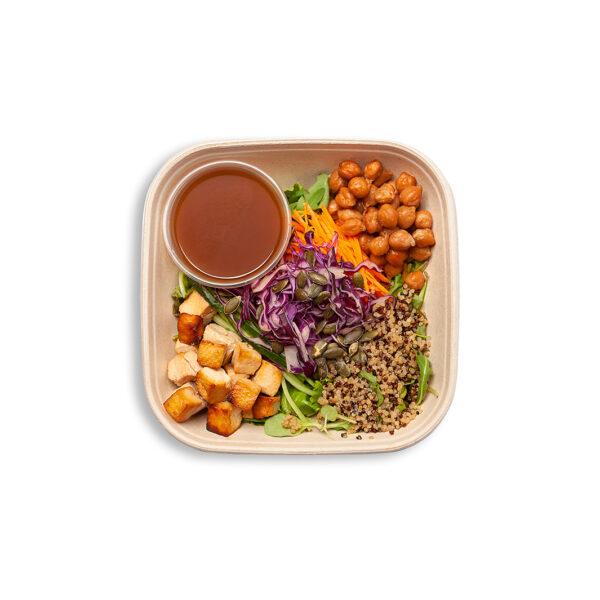 Tofu salāti zemesriekstu mērcē