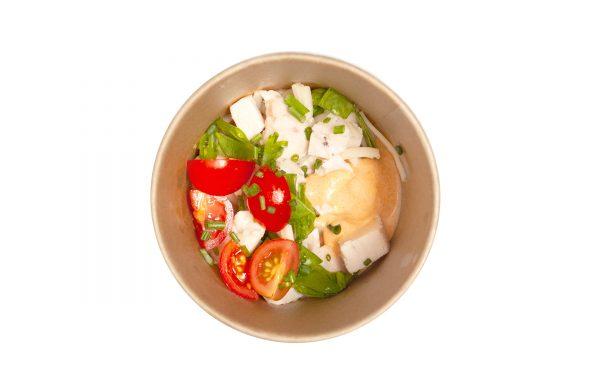 Vistas-kokosriekstu piena zupa