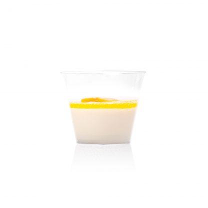 Panna cota ar citrusu mērci